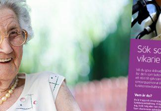 Täby kommun söker sommarvikarier till äldreomsorgen och LSS-verksamheten