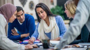 Yrkesmässig grupphandledning