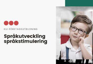 Språkutveckling och språkstimulering